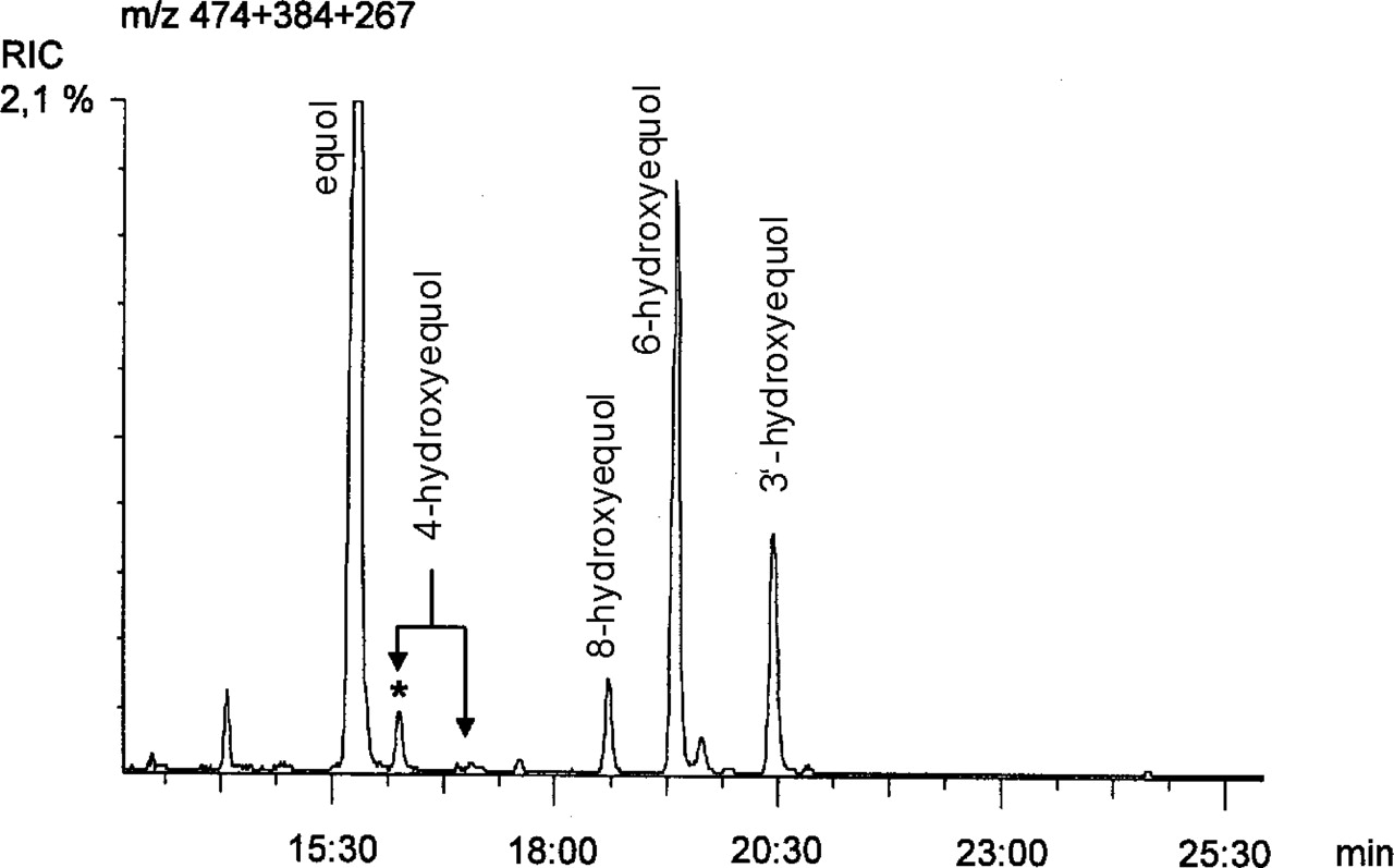 STRUCTURAL ELUCIDATION OF HYDROXYLATED METABOLITES OF THE
