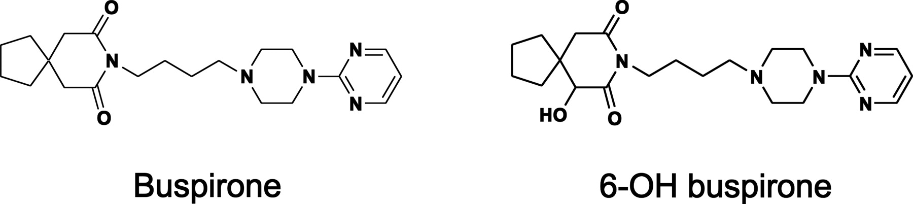6-Hydroxybuspirone Is a Major Active Metabolite of Buspirone