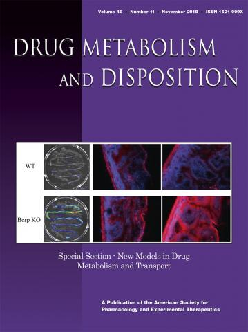 Drug Metabolism and Disposition: 46 (11)