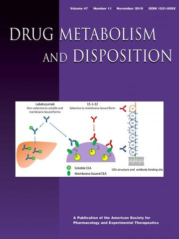 Drug Metabolism and Disposition: 47 (11)
