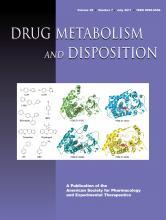 Drug Metabolism and Disposition: 39 (7)
