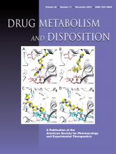 Drug Metabolism and Disposition: 40 (11)