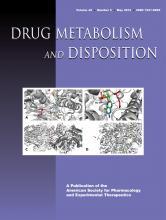 Drug Metabolism and Disposition: 40 (5)