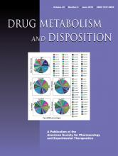 Drug Metabolism and Disposition: 40 (6)
