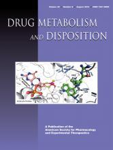 Drug Metabolism and Disposition: 40 (8)