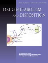 Drug Metabolism and Disposition: 40 (9)