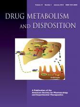 Drug Metabolism and Disposition: 41 (1)