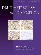 Drug Metabolism and Disposition: 41 (11)