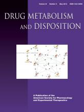 Drug Metabolism and Disposition: 41 (5)