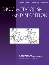 Drug Metabolism and Disposition: 41 (9)