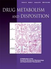 Drug Metabolism and Disposition: 42 (1)