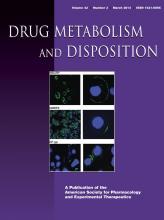 Drug Metabolism and Disposition: 42 (3)