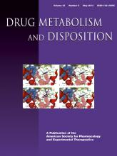 Drug Metabolism and Disposition: 42 (5)