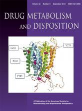 Drug Metabolism and Disposition: 42 (9)