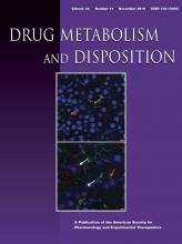 Drug Metabolism and Disposition: 44 (11)