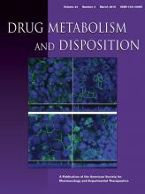 Drug Metabolism and Disposition: 44 (3)