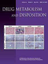 Drug Metabolism and Disposition: 44 (5)