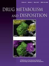 Drug Metabolism and Disposition: 45 (3)