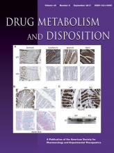 Drug Metabolism and Disposition: 45 (9)