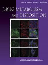 Drug Metabolism and Disposition: 46 (3)