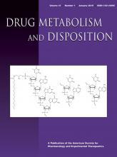 Drug Metabolism and Disposition: 47 (1)