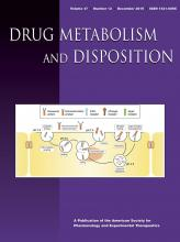 Drug Metabolism and Disposition: 47 (12)