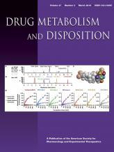 Drug Metabolism and Disposition: 47 (3)