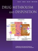 Drug Metabolism and Disposition: 47 (5)