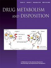 Drug Metabolism and Disposition: 47 (9)