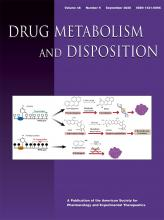Drug Metabolism and Disposition: 48 (9)